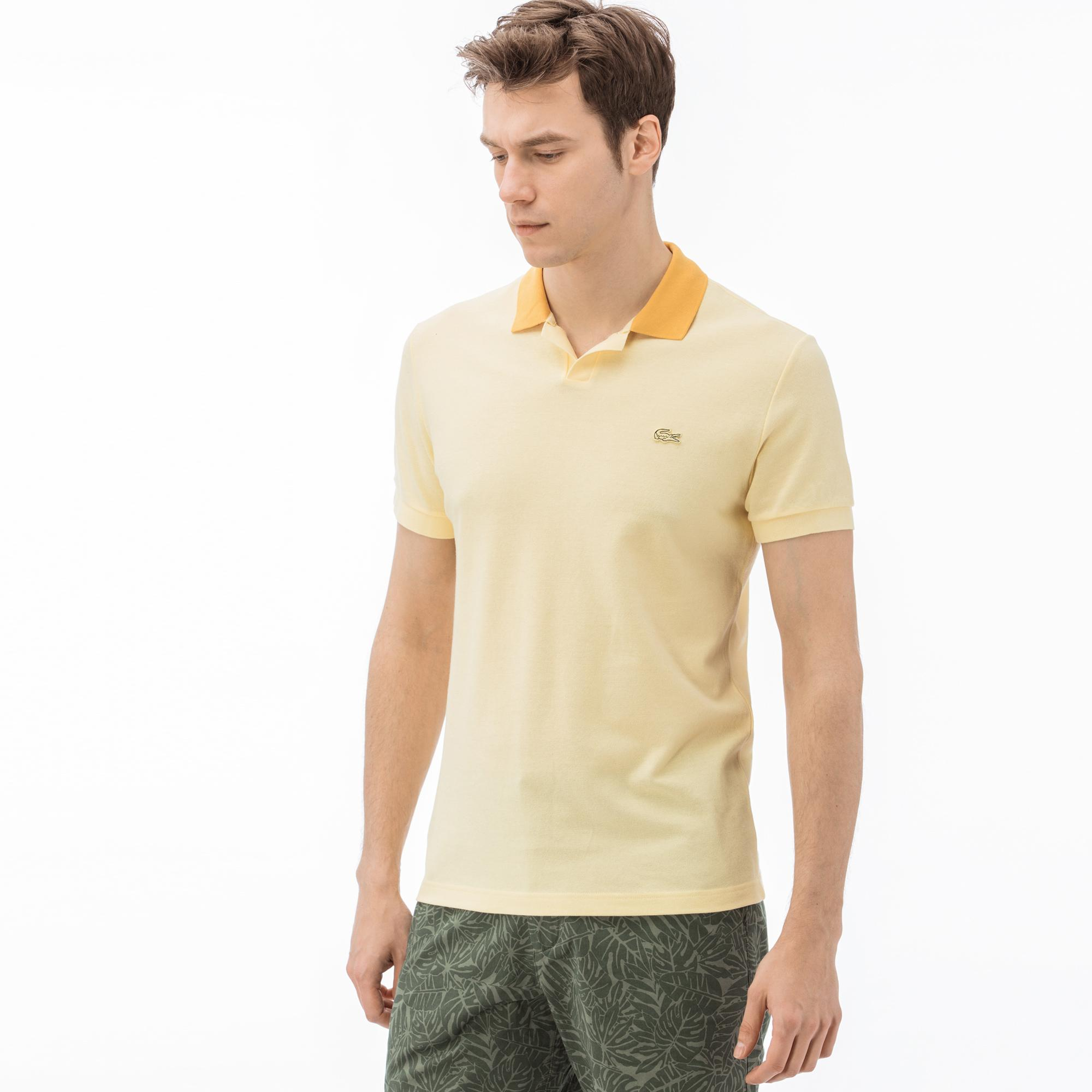 Lacoste Erkek Regular Fit Sarı Polo