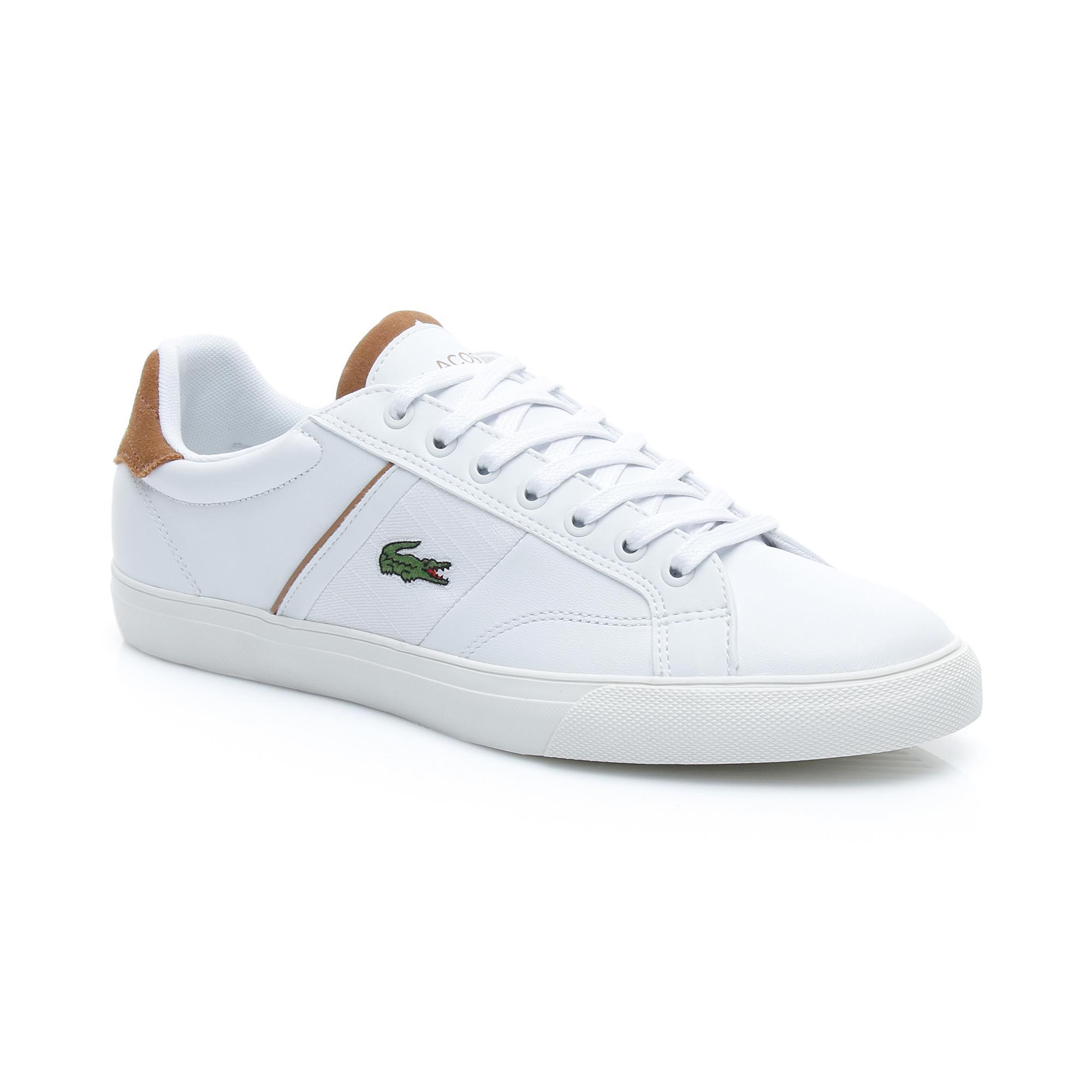 Lacoste Erkek Beyaz - Açık Kahve Fairlead 119 1 Casual Ayakkabı