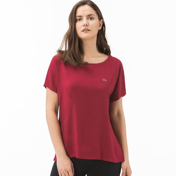Lacoste Kadın Bordo Bluz