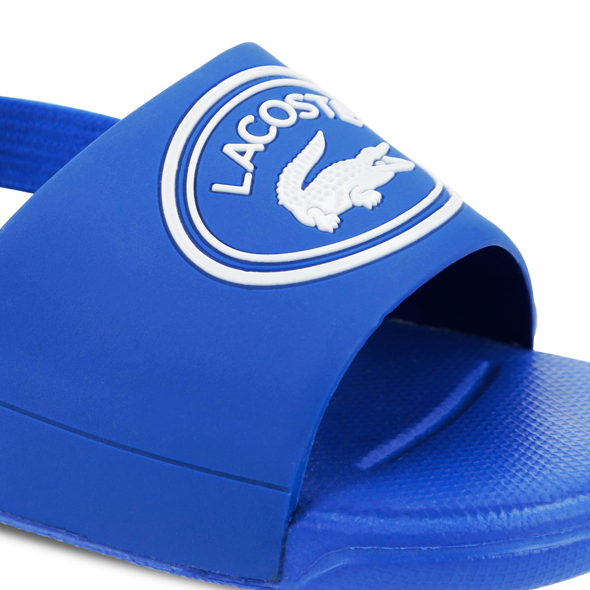Lacoste Çocuk Mavi - Beyaz L.30 Slide 119 1 Casual Sandalet