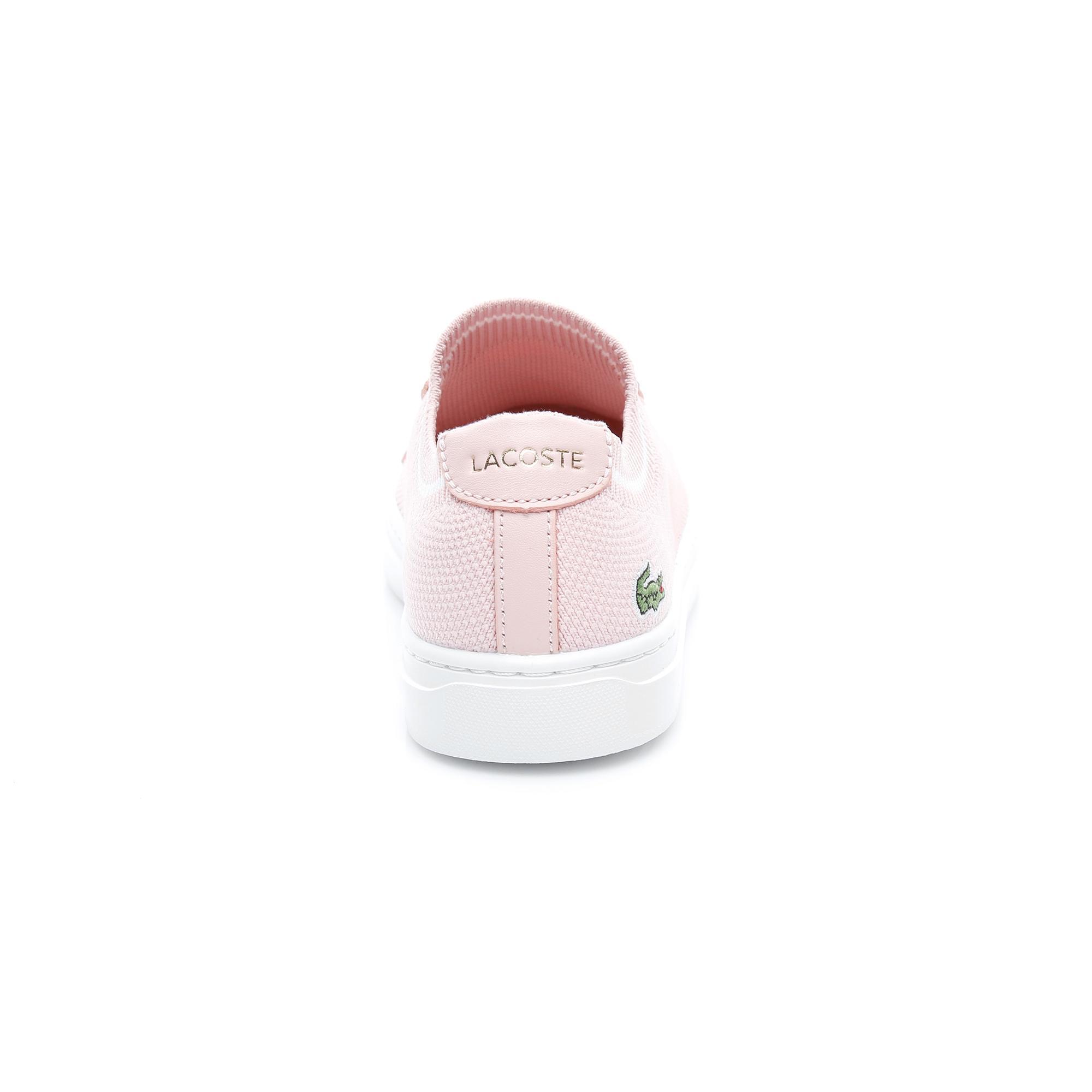Lacoste Kadın Pembe - Beyaz La Piquée 119 1 Casual Ayakkabı