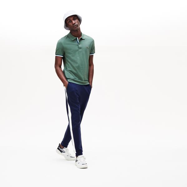 Lacoste Erkek Slim Fit Haki Polo