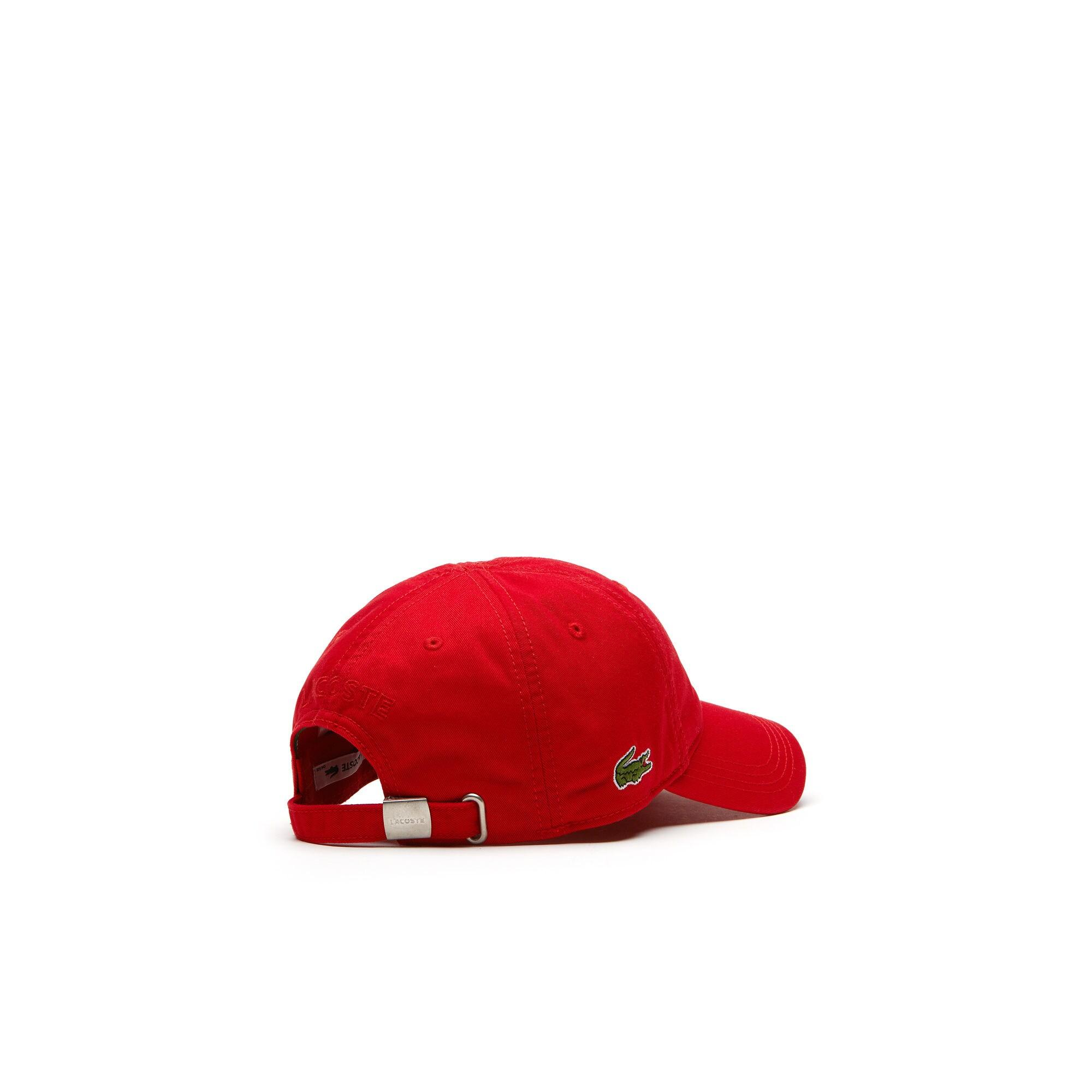 Lacoste Motion Unisex Kırmızı Şapka