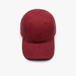 Lacoste Unisex Bordo Şapka