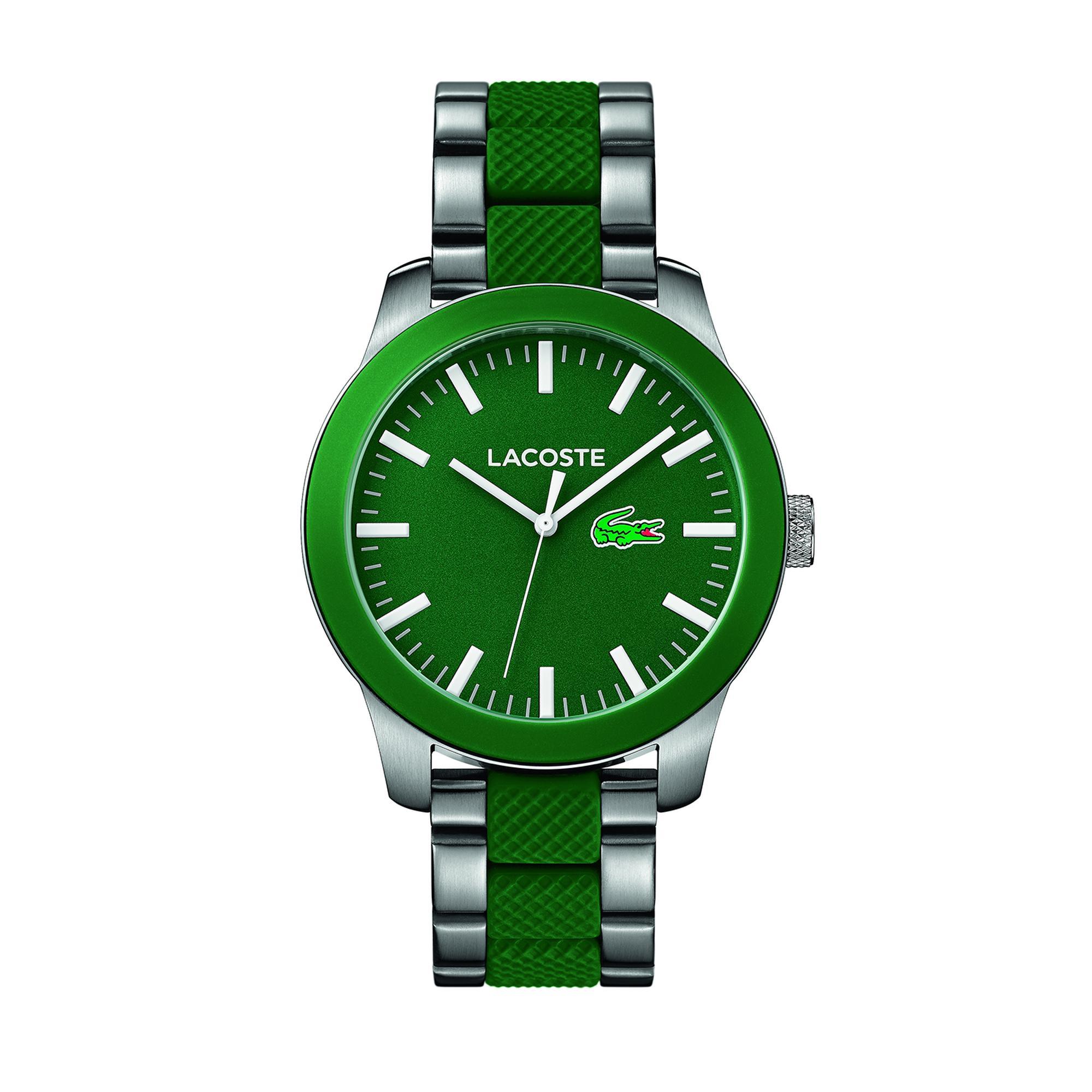 Lacoste Erkek Yeşil - Gri Saat