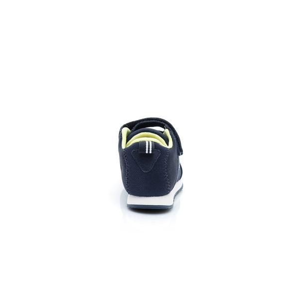 Lacoste Light 119 1 SUI Çocuk Lacivert - Beyaz Sneaker