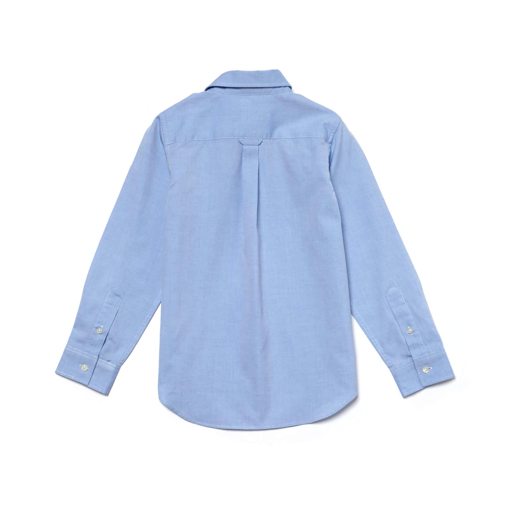 Lacoste Çocuk Mavi Gömlek
