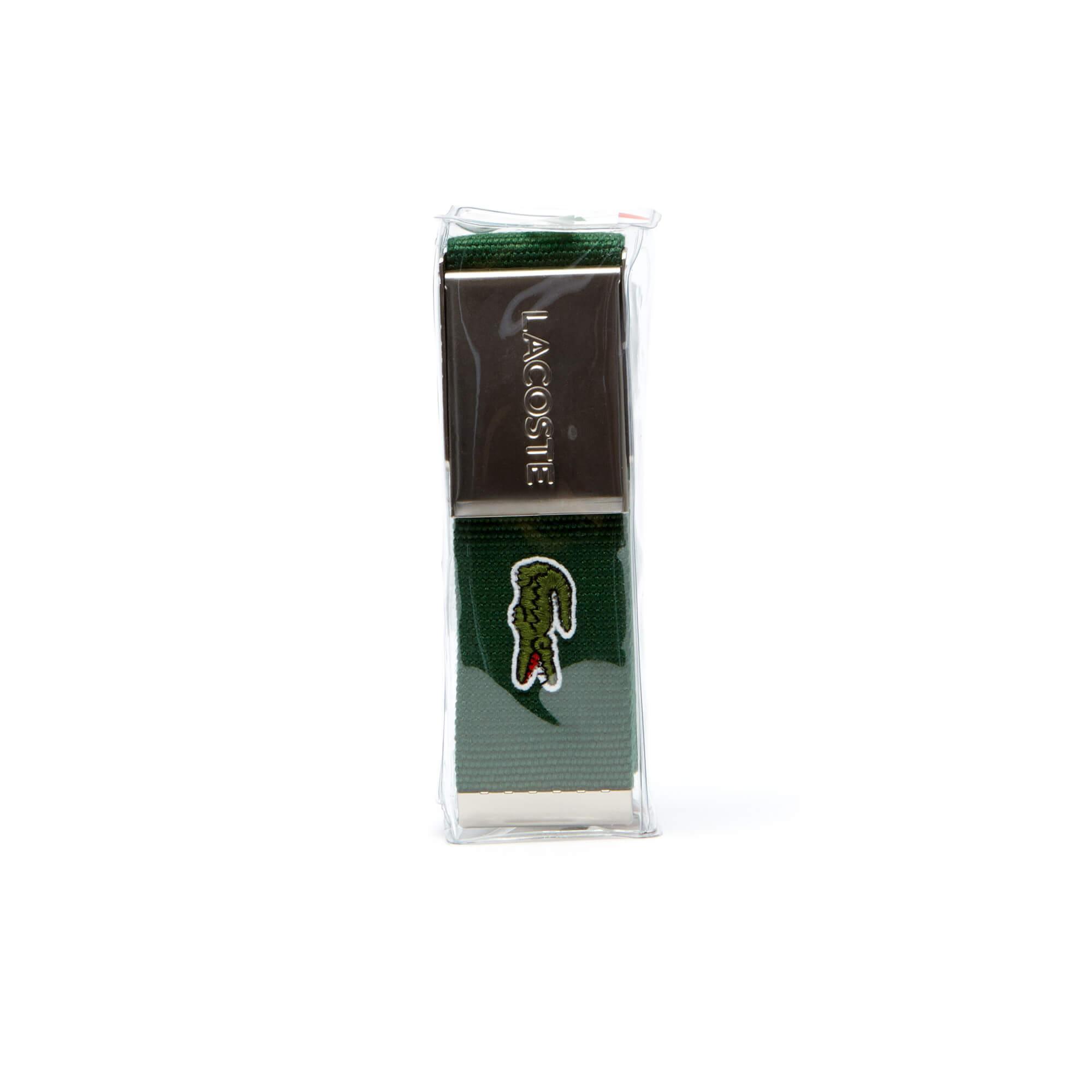 Lacoste Erkek Yeşil Kemer
