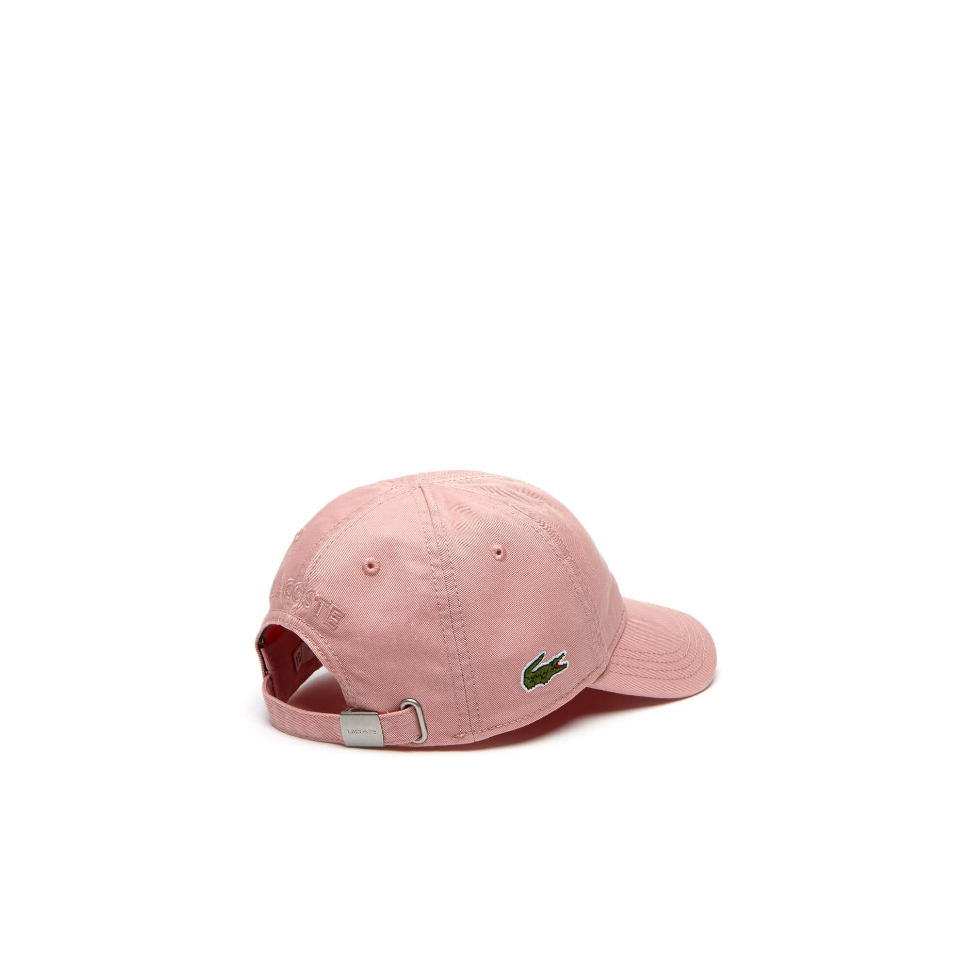 Lacoste Kız Çocuk Pembe Spor Şapka