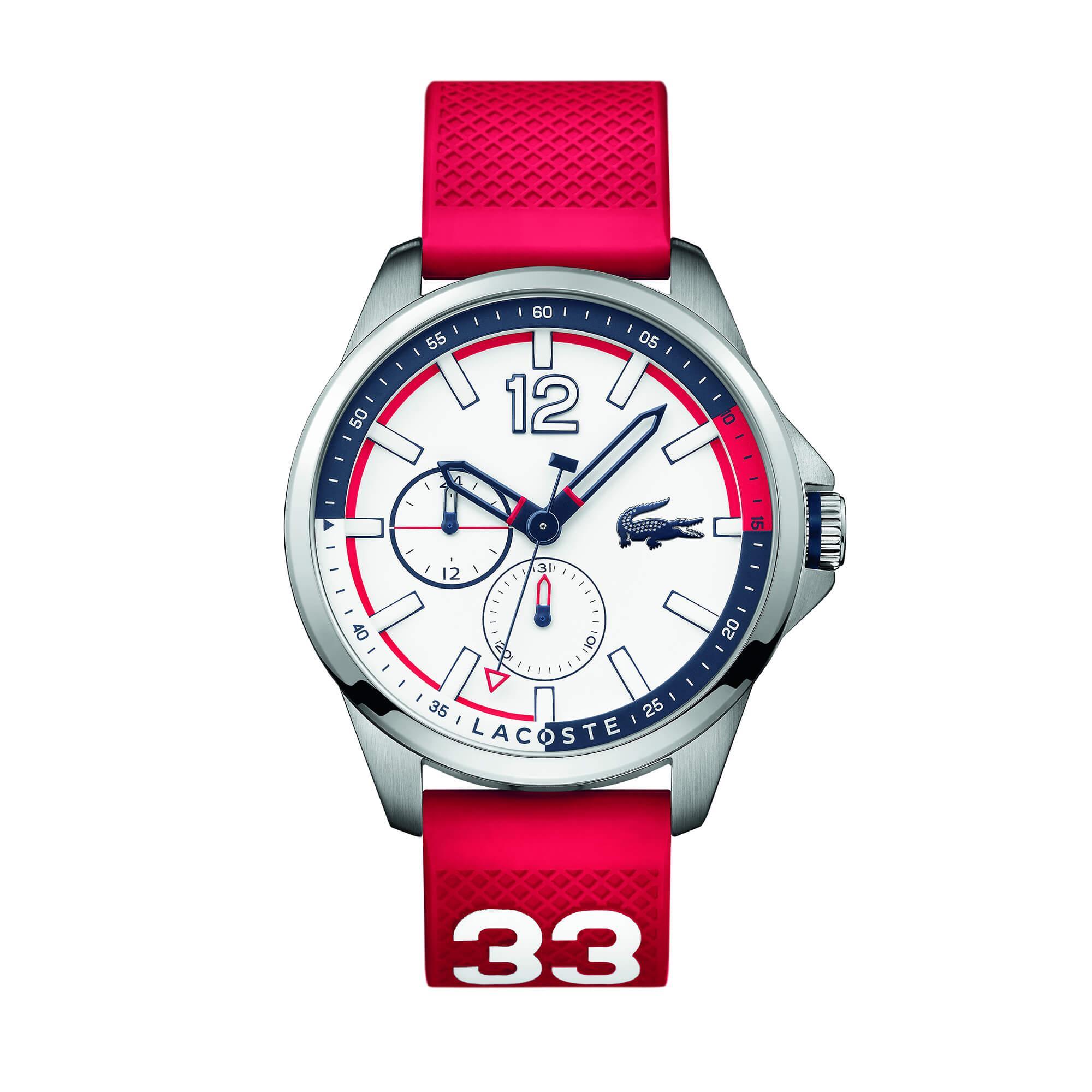 Lacoste Erkek Kırmızı Saat