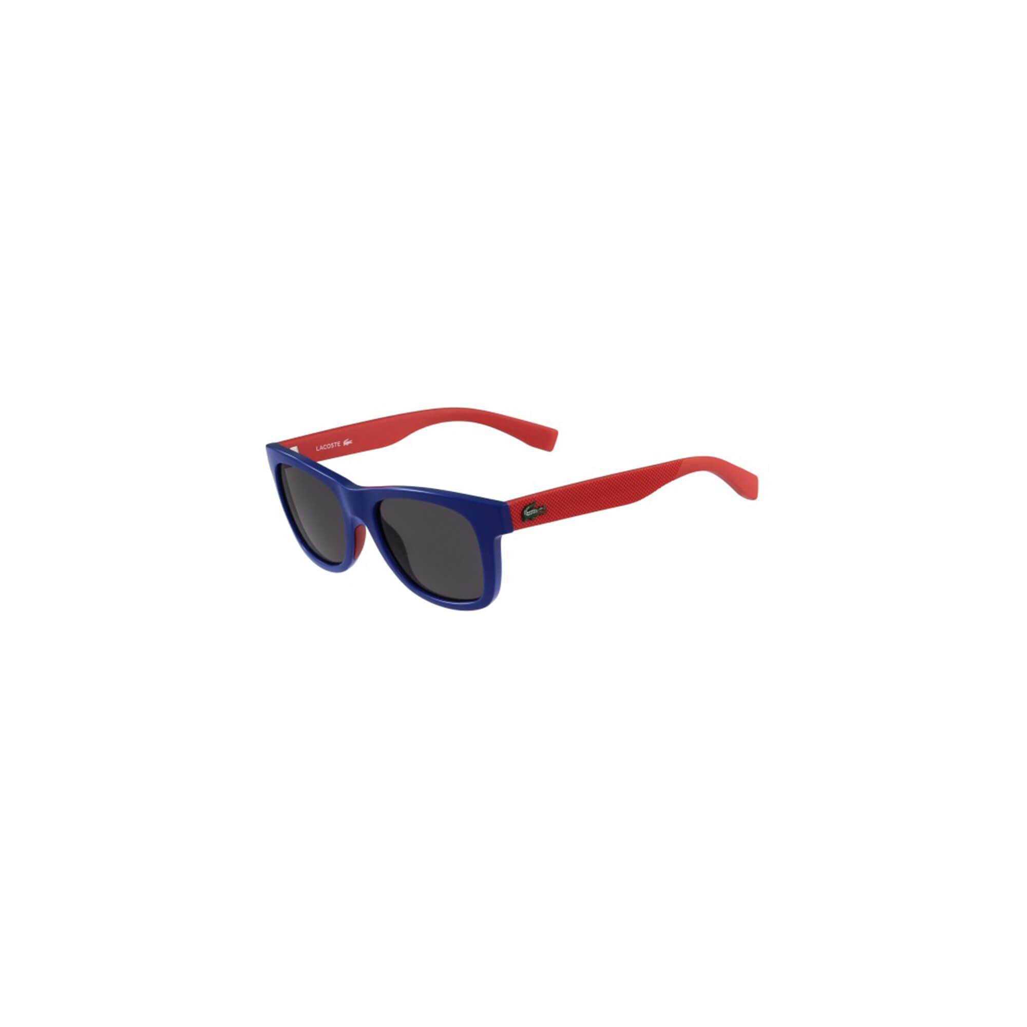 Lacoste Unisex Çocuk Mavi Güneş Gözlüğü