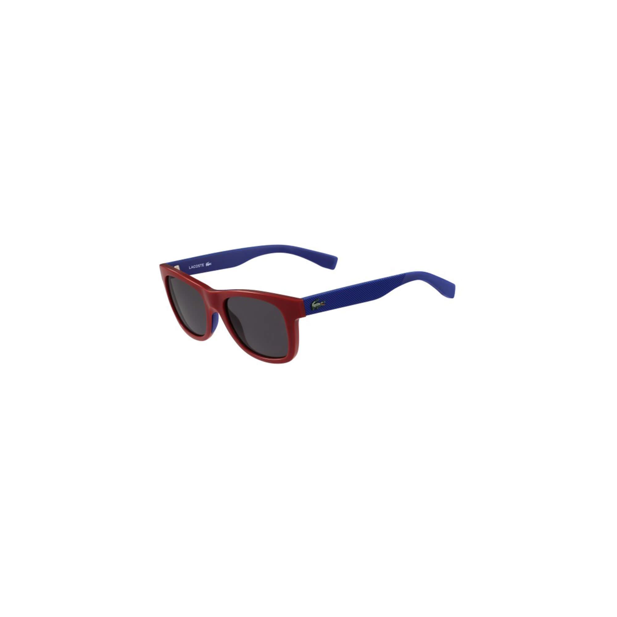 Lacoste Unisex Çocuk Bordo Güneş Gözlüğü