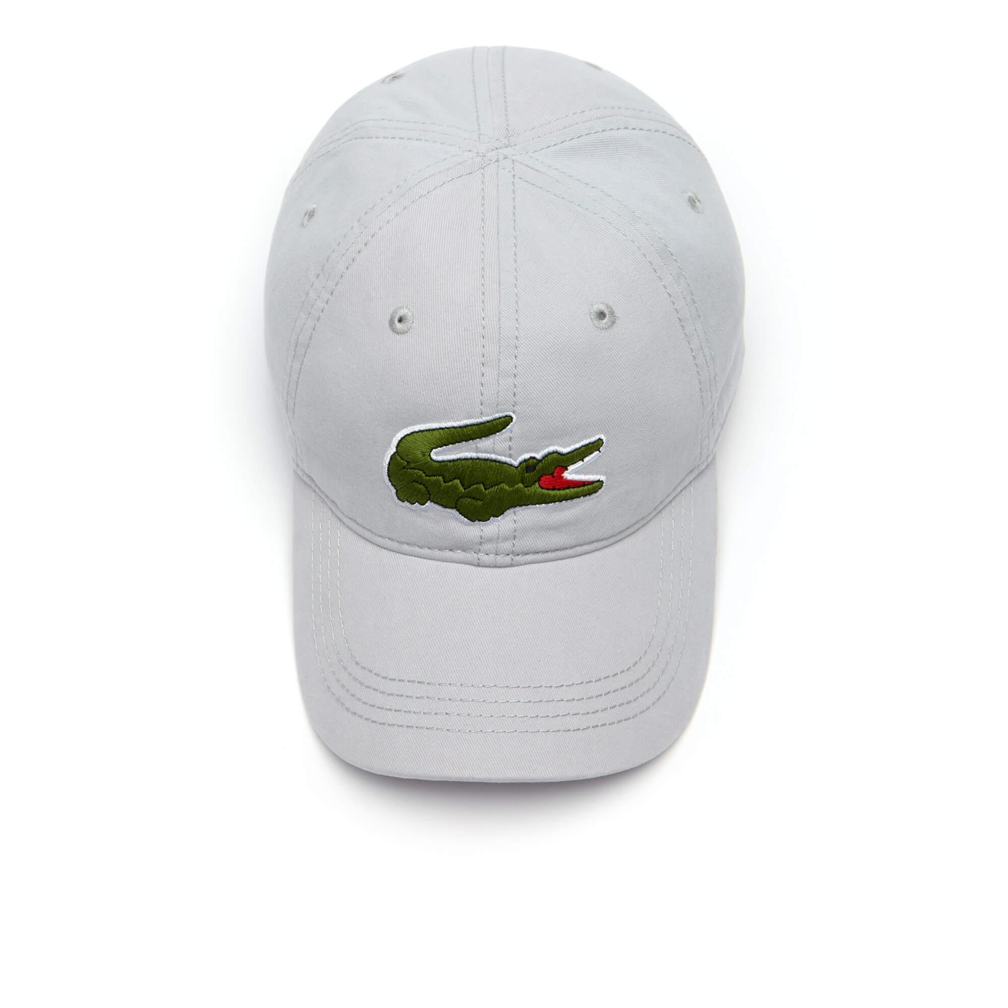 Lacoste Erkek Gri Spor Şapka