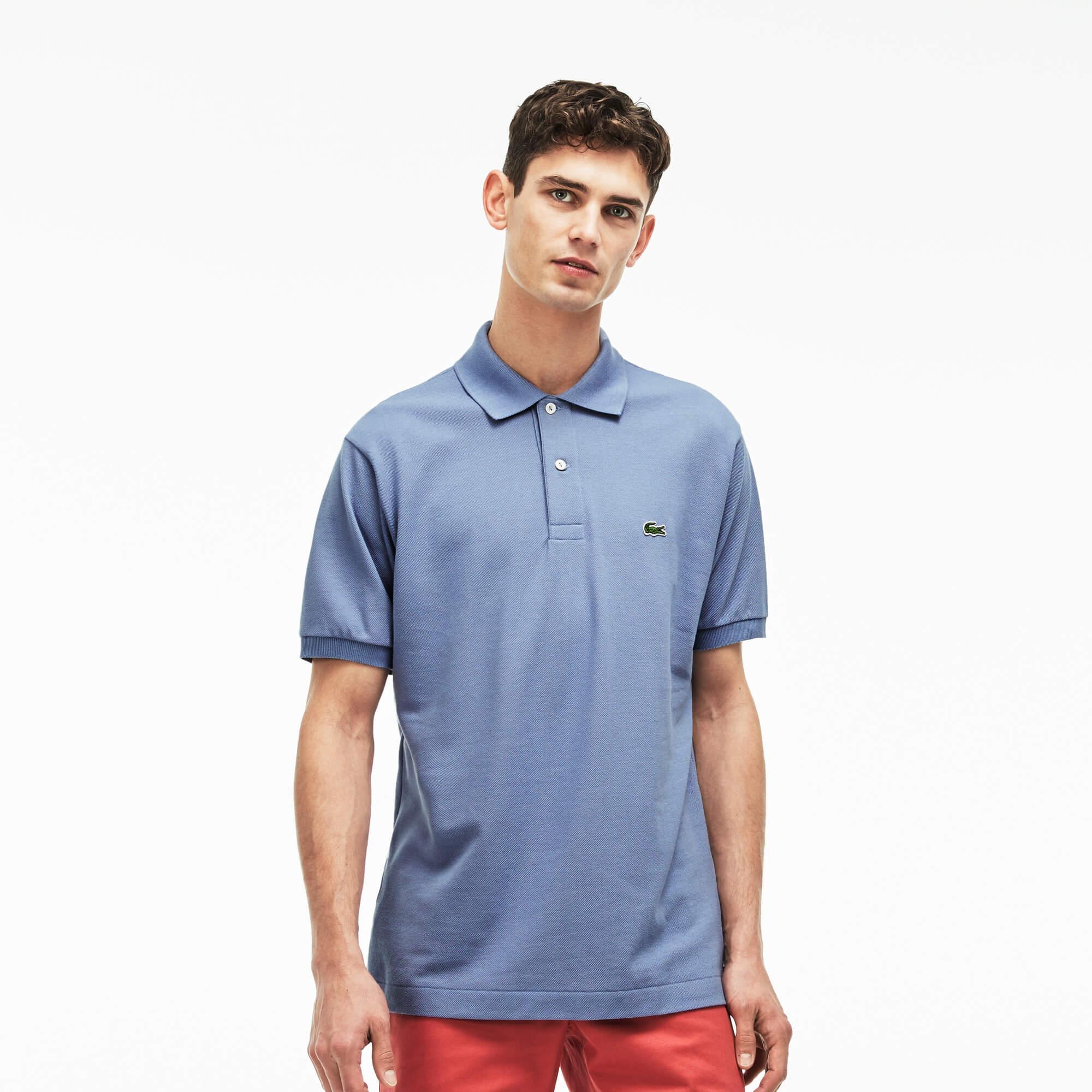 Lacoste Erkek Mavi L1212 Polo