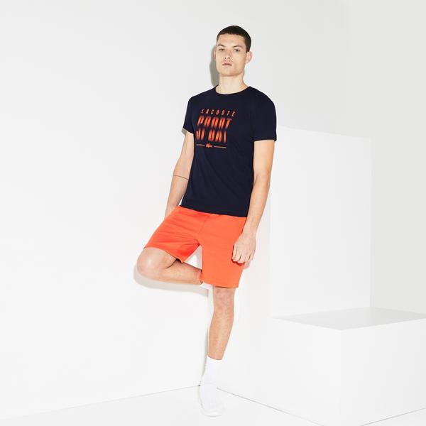 Lacoste Sport Erkek Baskılı Lacivert T-Shirt