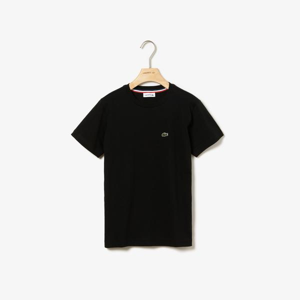 Lacoste Çocuk Siyah T-Shirt