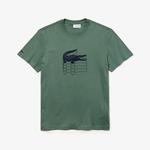 Lacoste Erkek Regular Fit Haki T-Shirt