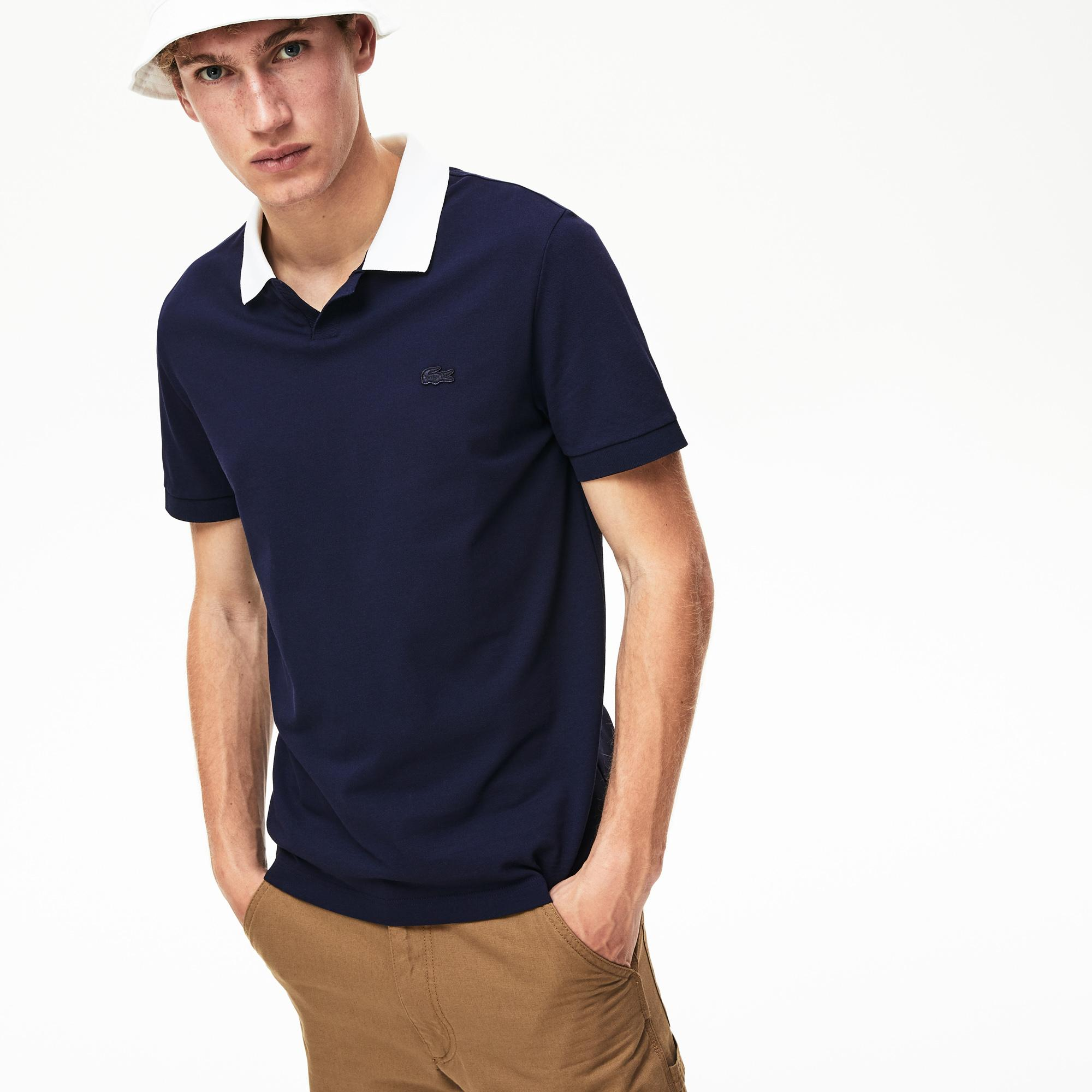 Lacoste Erkek Regular Fit Lacivert Polo