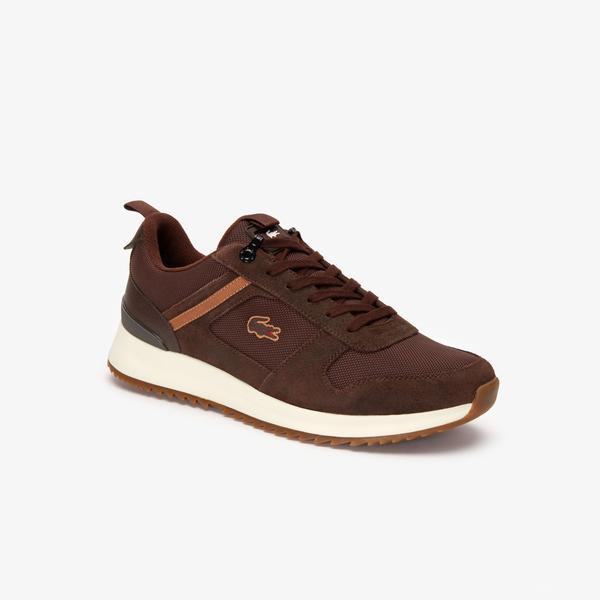 Lacoste Joggeur 2.0 319 1 Sma Erkek Kahverengi Sneaker