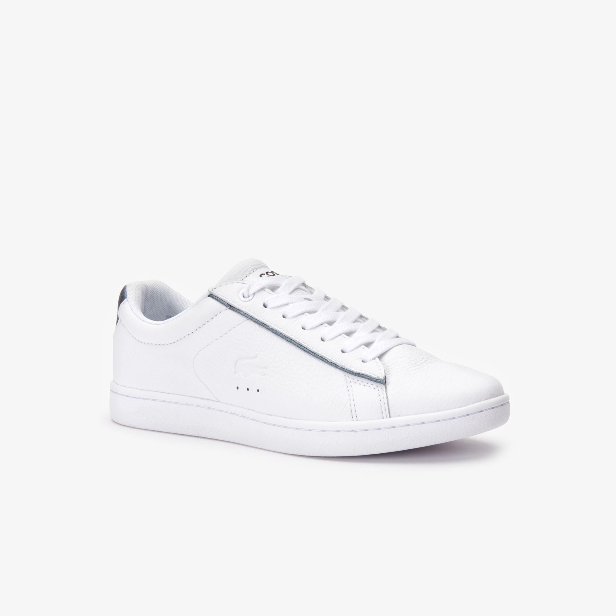Lacoste Carnaby Evo 319 9 Sfa Kadın Beyaz - Gri Sneaker