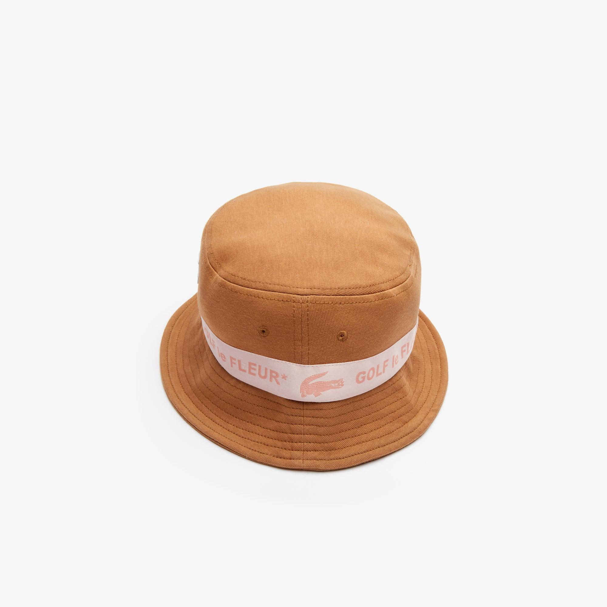 Lacoste X GOLF le FLEUR Unisex Kahverengi Şapka