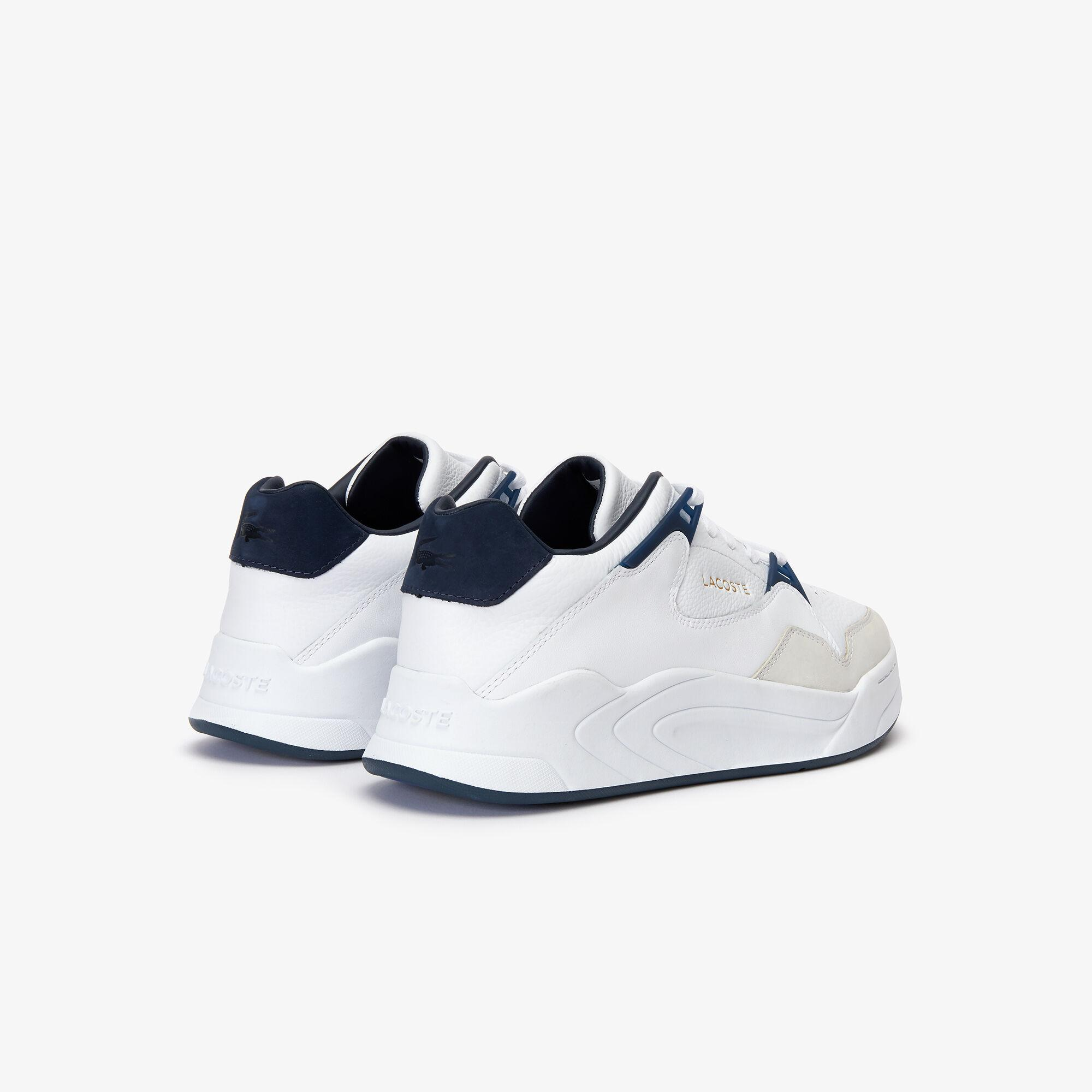 Lacoste Court Slam 319 1 Sma Erkek Beyaz - Lacivert Sneaker