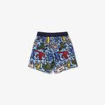 Lacoste X Keith Haring Çocuk Renkli Şort Mayo