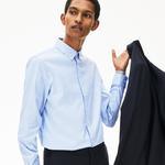 Lacoste Erkek Slim Fit Mavi Gömlek