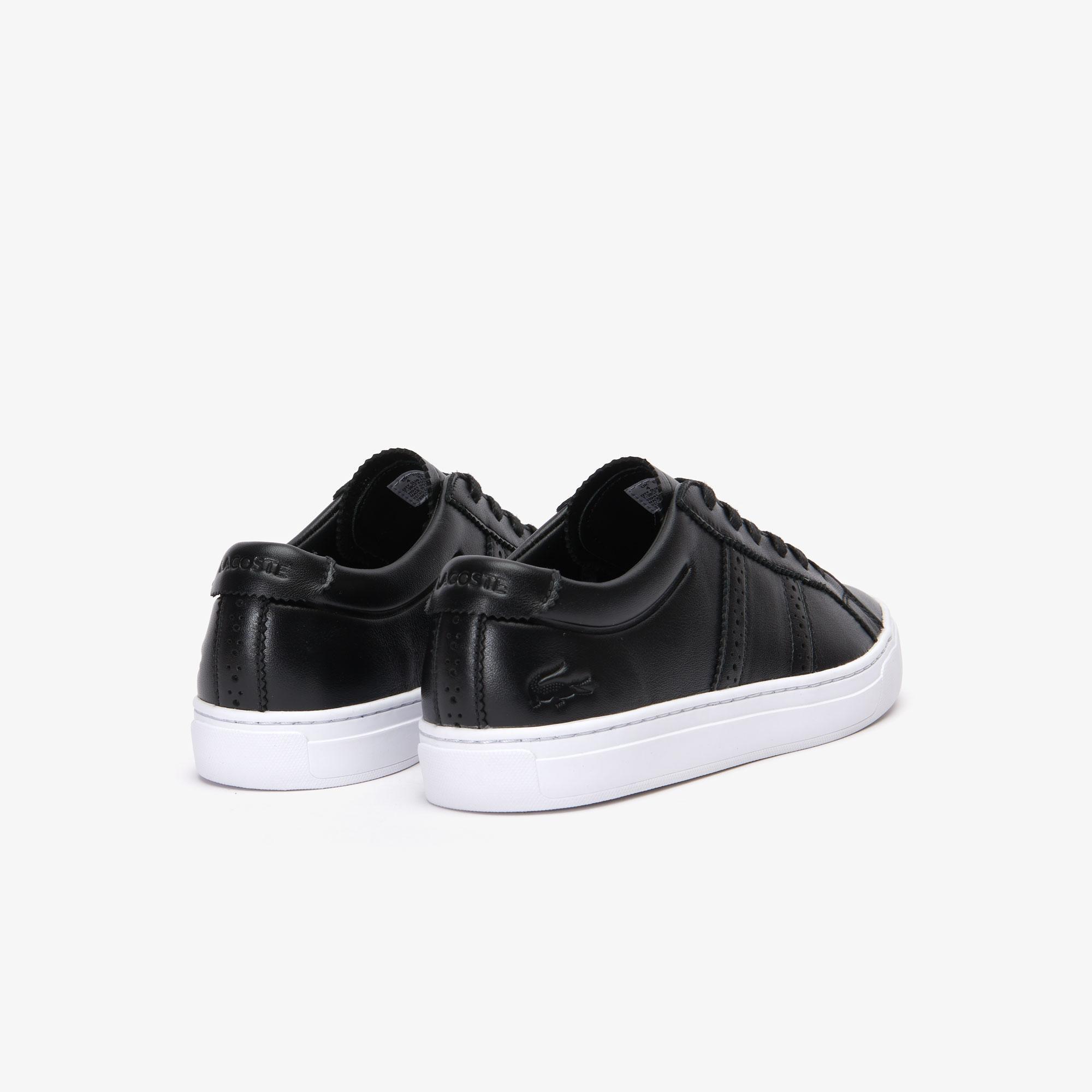 Lacoste City Club 319 1 Cfa Kadın Siyah - Beyaz Casual Ayakkabı