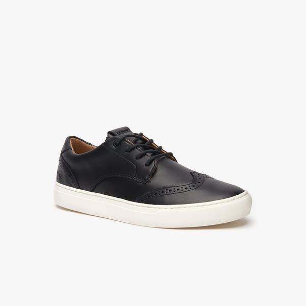 Lacoste City Club 319 1 Cma Erkek Siyah - Bej Casual Ayakkabı