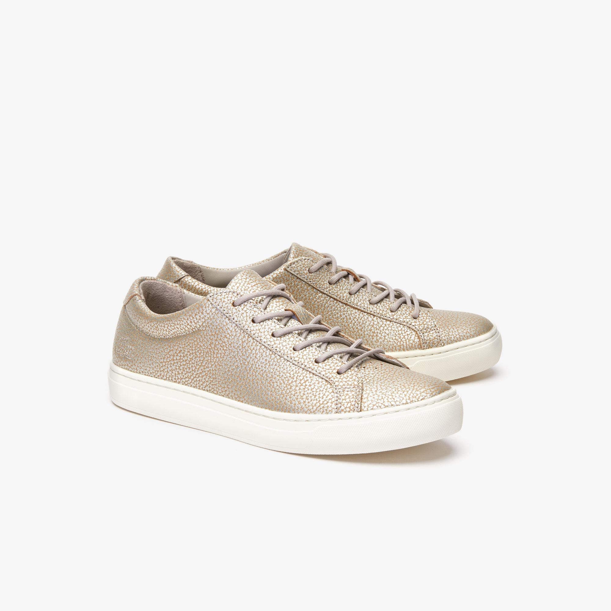 Lacoste L.12.12 319 1 Cfa Kadın Gri - Bej Casual Ayakkabı