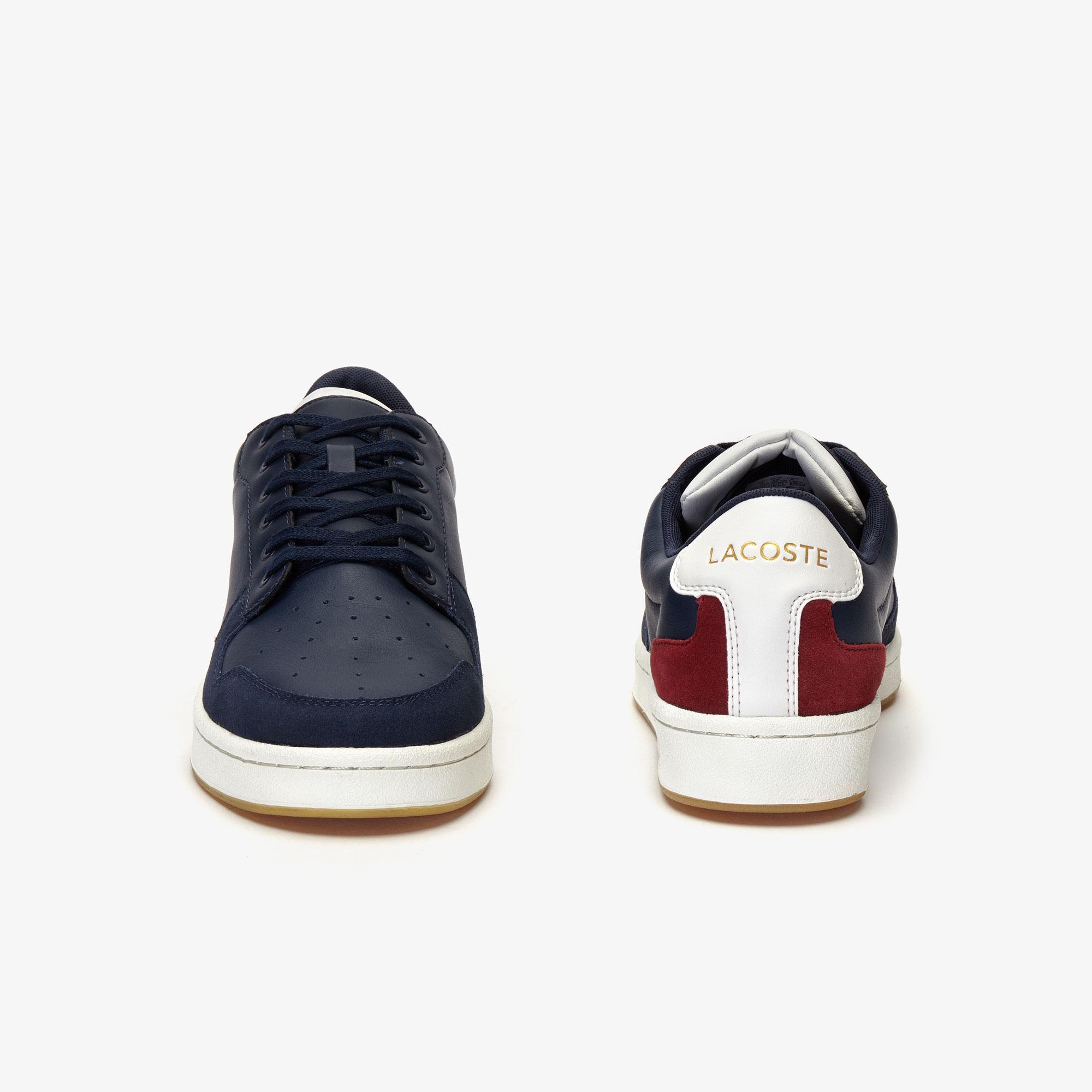 Lacoste Masters Cup 319 2 Sma Erkek Lacivert - Bej - Koyu Kırmızı Sneaker