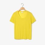 Lacoste Kadın Sarı T-Shirt