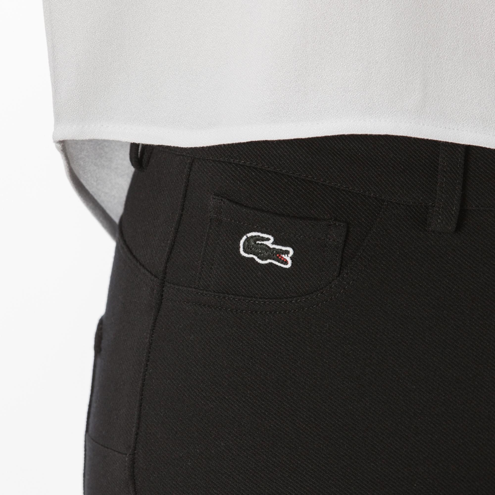Lacoste Kadın Siyah Denim Pantolon
