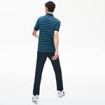 Lacoste Motion Erkek Regular Fit Çizgili Lacivert Polo