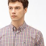 Lacoste Erkek Regular Fit Kareli Renkli Gömlek