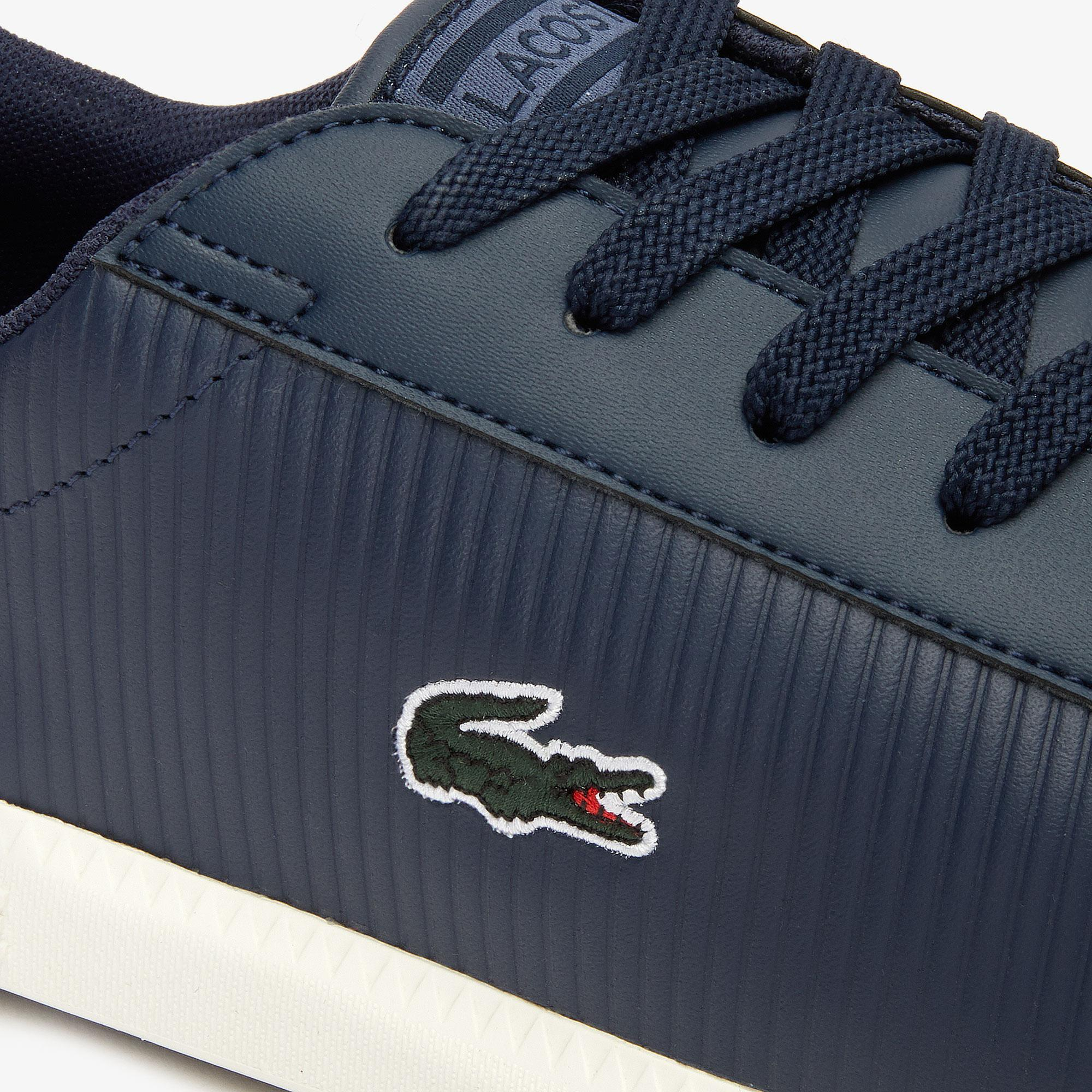 Lacoste Graduate 319 2 Sma Erkek Lacivert - Bej Sneaker