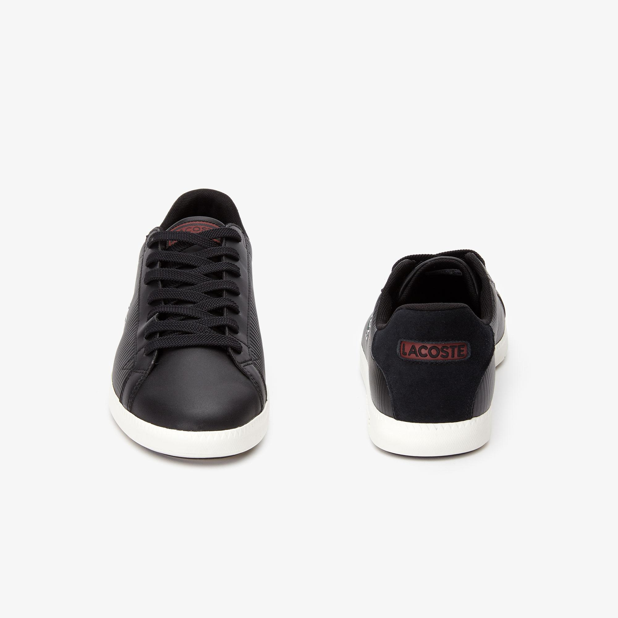 Lacoste Graduate 319 2 Sma Erkek Siyah - Bej Sneaker