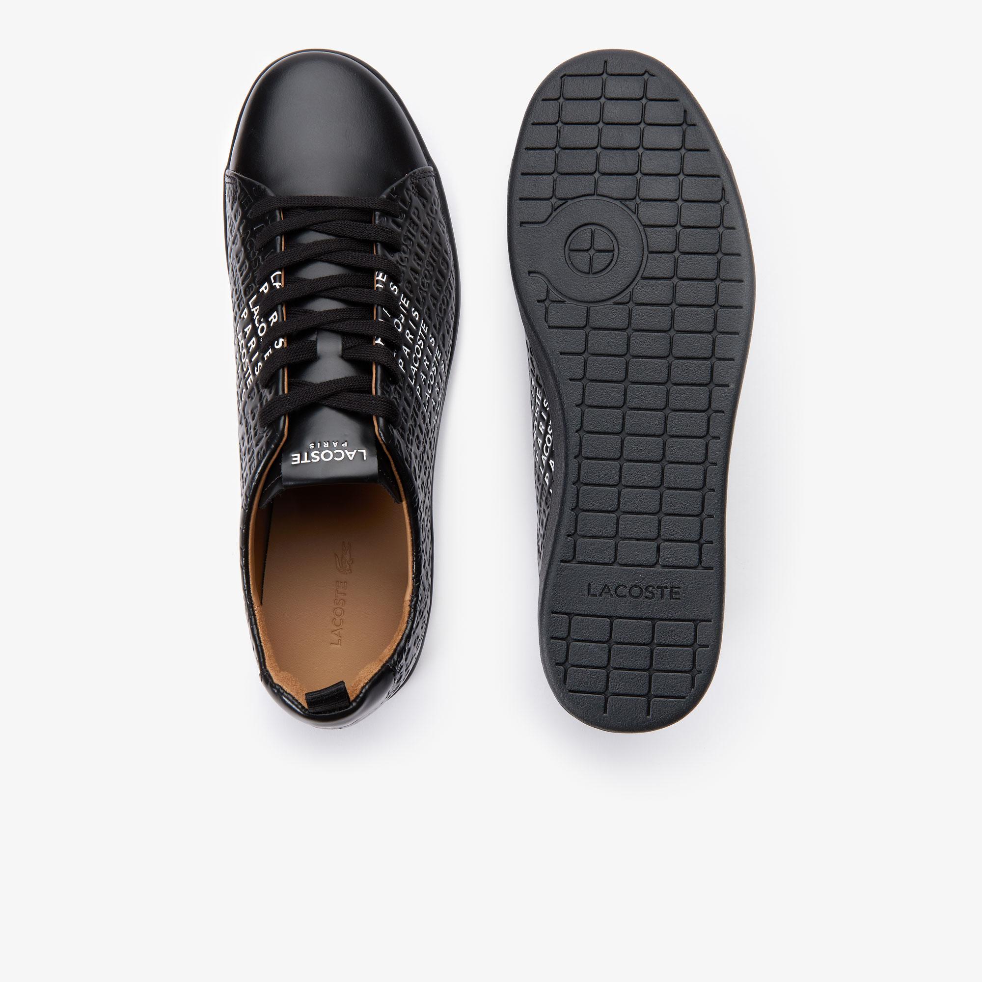 Lacoste Carnaby Evo 319 12 Us Sma Erkek Siyah - Beyaz Sneaker