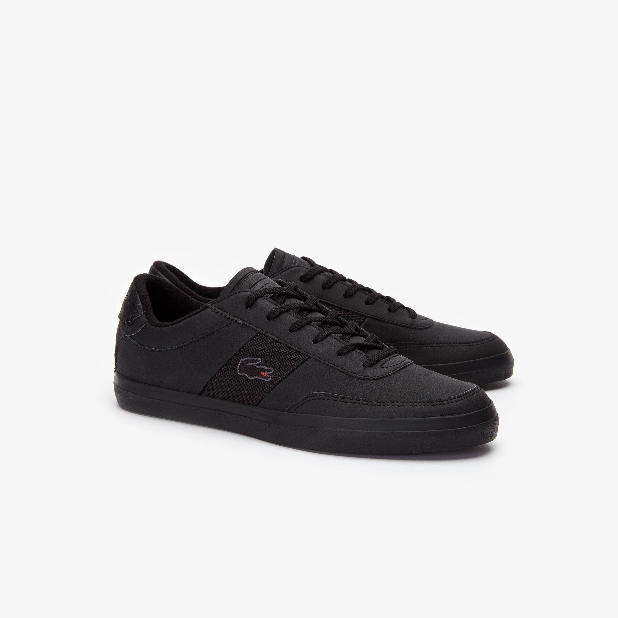 Lacoste Court-Master 319 5 Cma Erkek Siyah Casual Ayakkabı