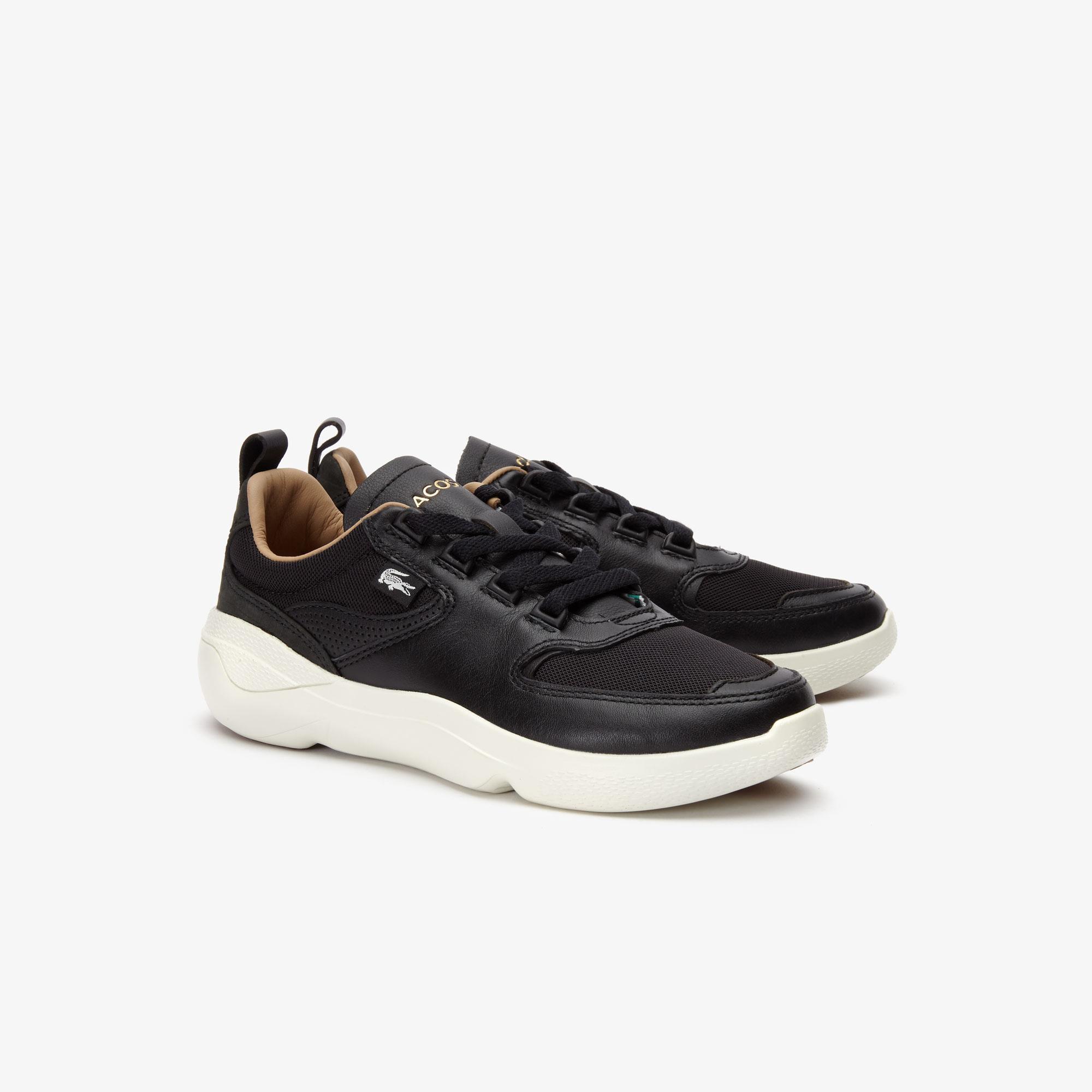 Lacoste Wildcard 319 2 Sfa Kadın Siyah - Bej Sneaker
