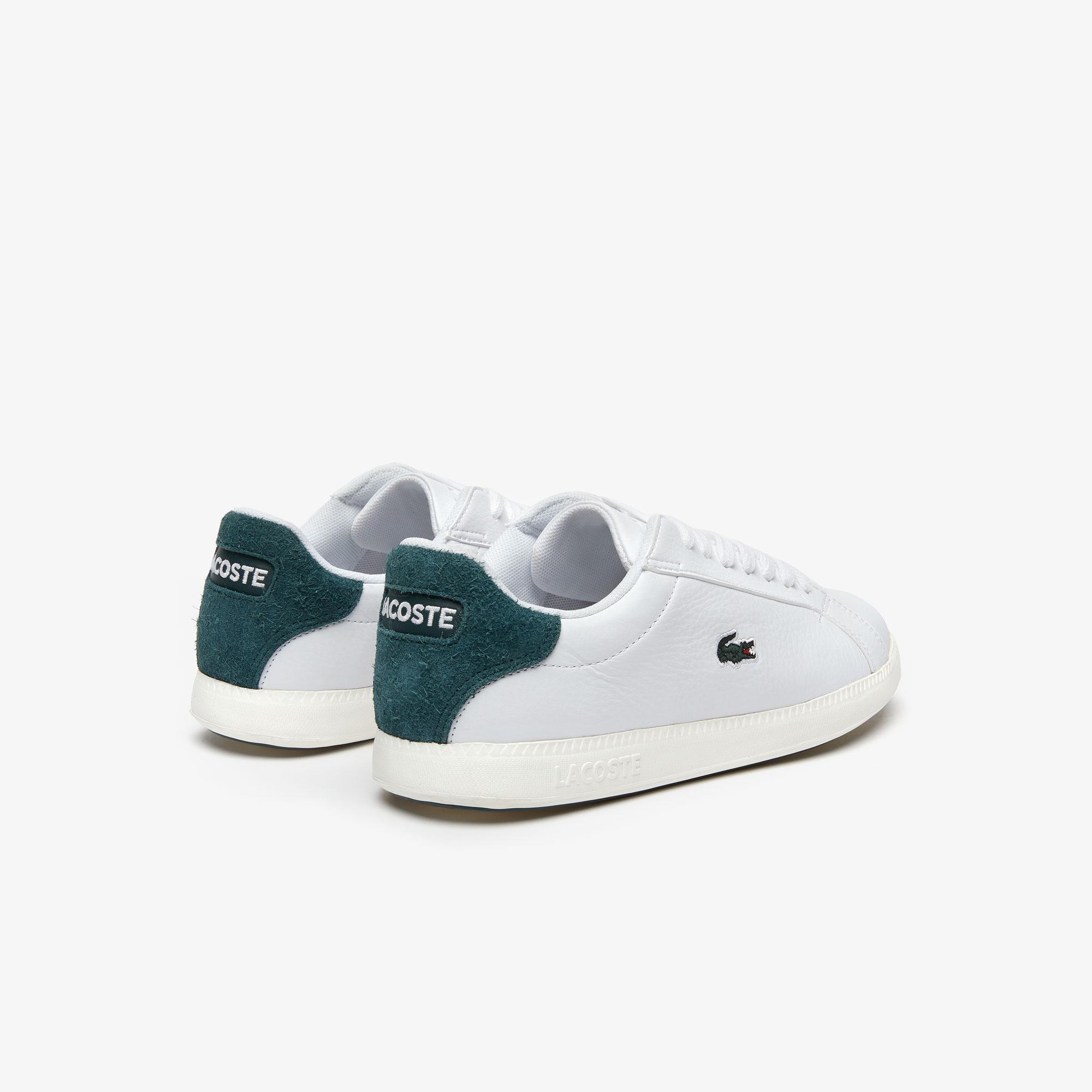 Lacoste Graduate 319 1 Sfa Kadın Beyaz - Koyu Yeşil Sneaker