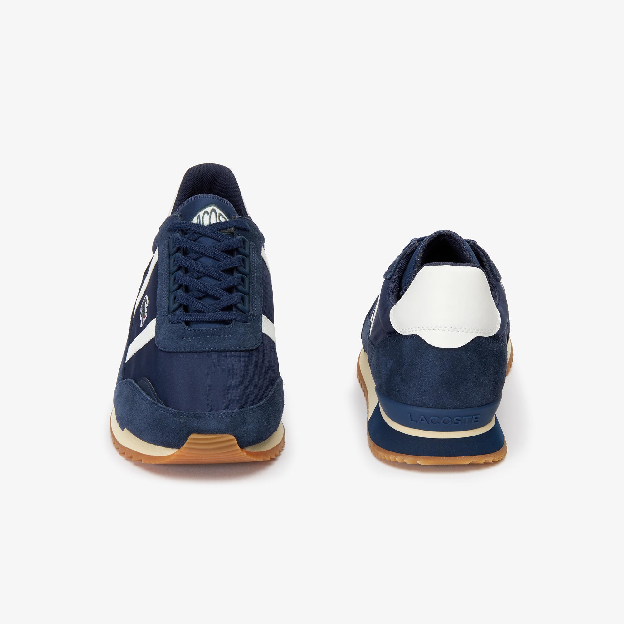 Lacoste Partner Retro 319 1 Sma Erkek Lacivert - Beyaz Ayakkabı