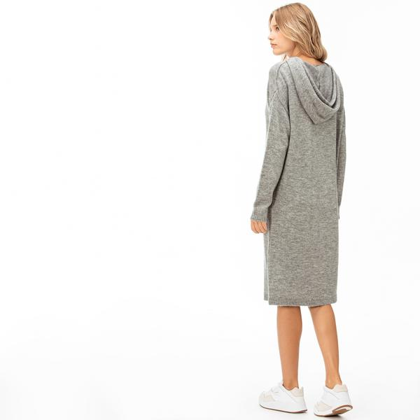 Lacoste Kadın Gri Elbise