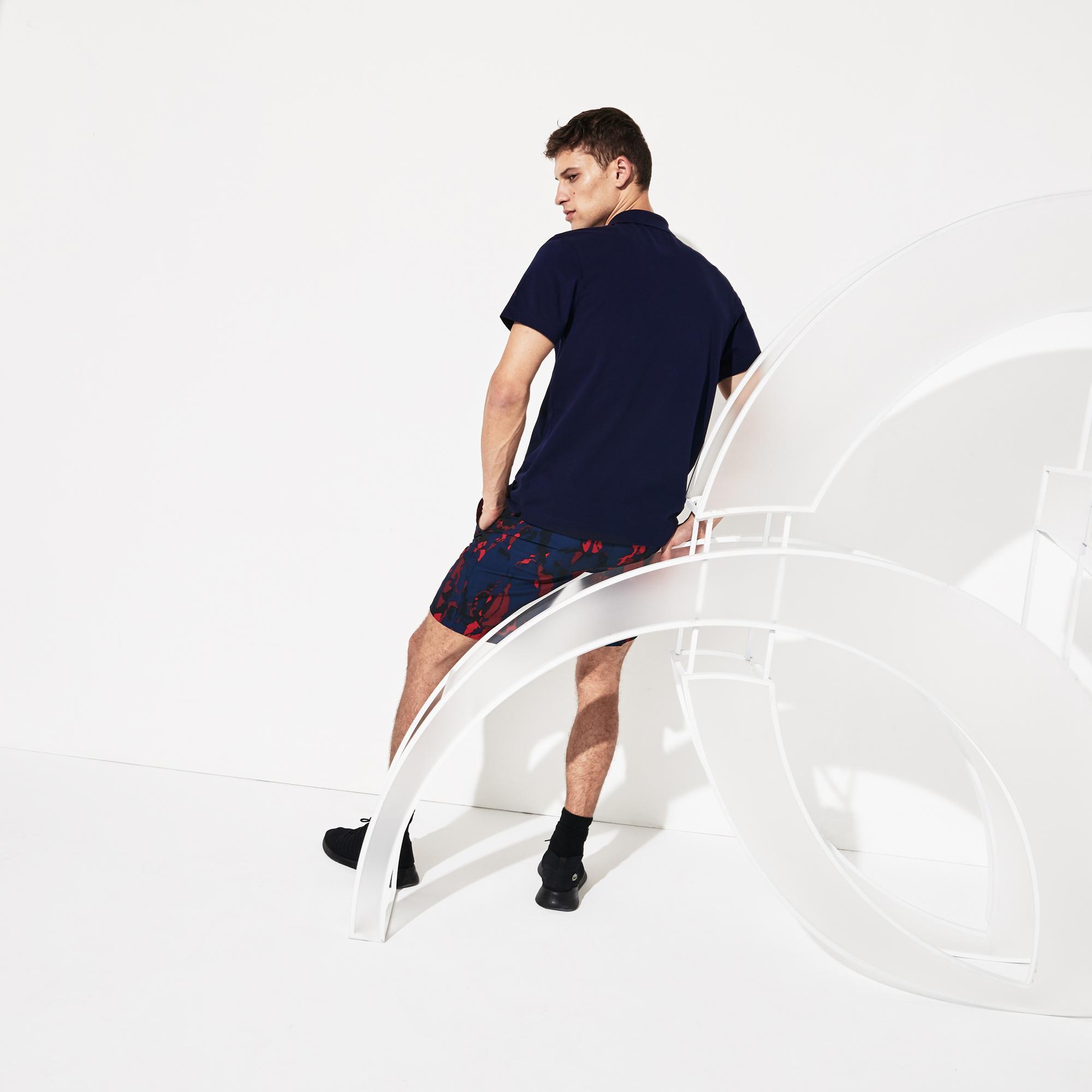 Lacoste Novak Djokovic Erkek Lacivert Polo