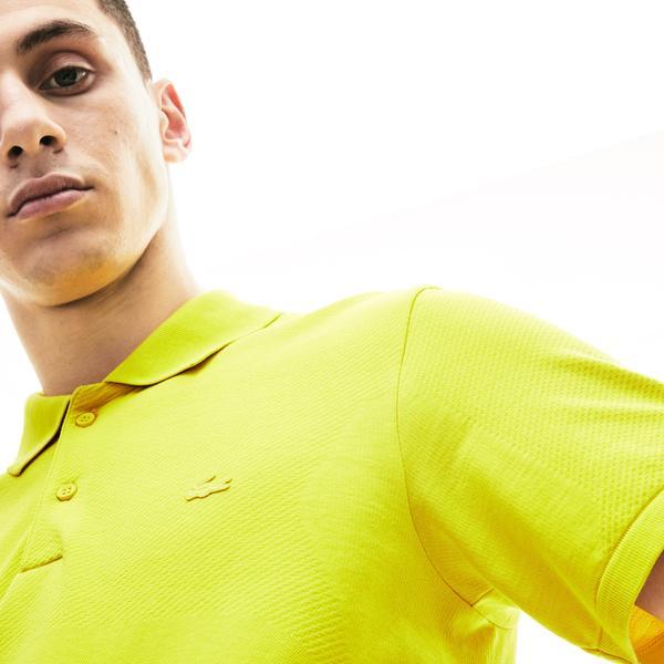 Lacoste Motion Erkek Slim Fit Sarı Polo