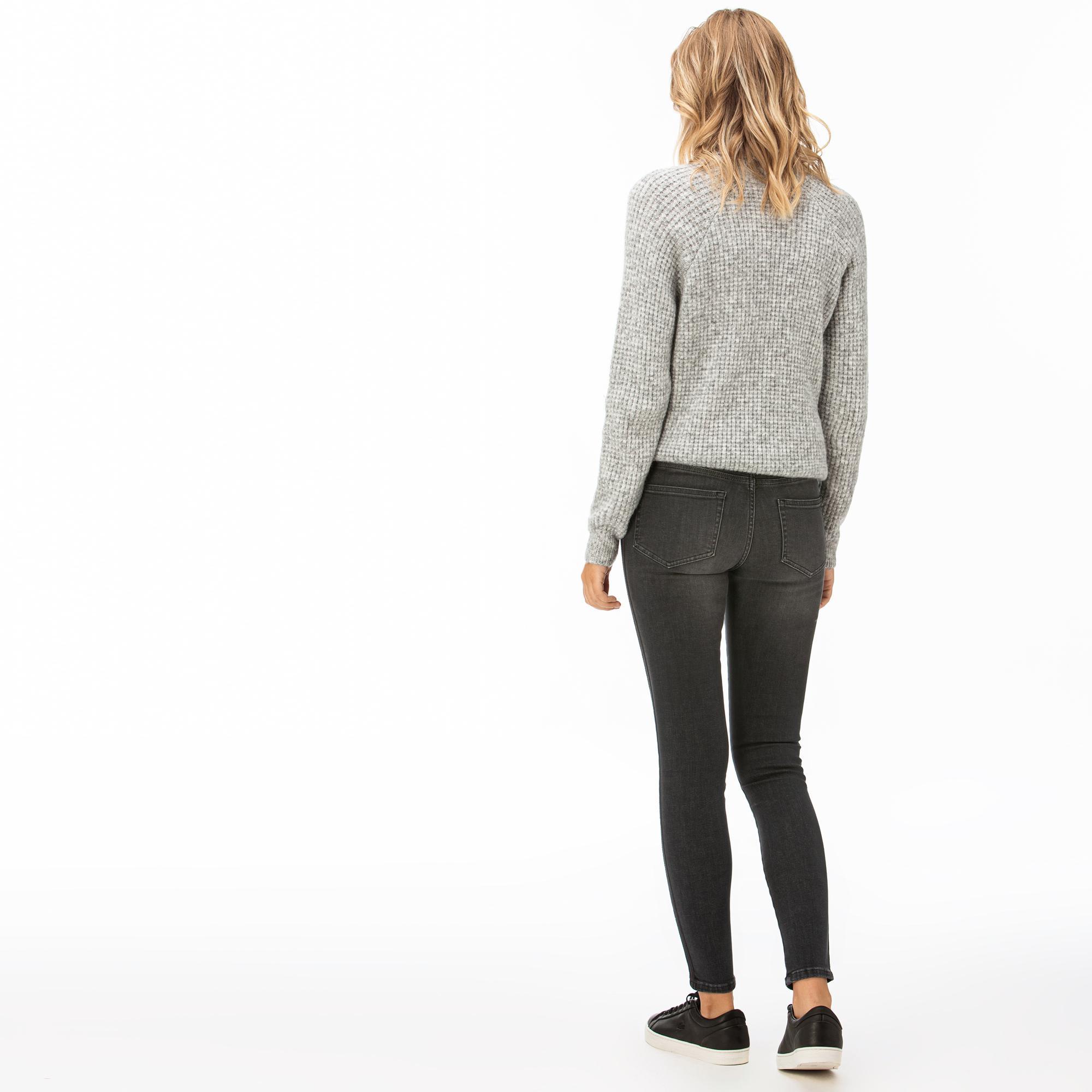Lacoste Kadın Koyu Gri Pantolon