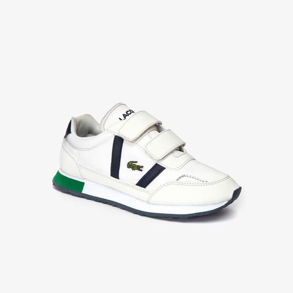 Lacoste Partner 319 2 Suc Çocuk Bej - Lacivert Sneaker