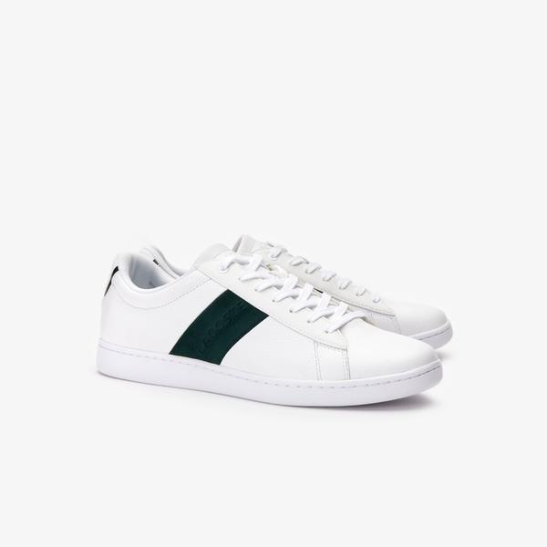 Lacoste Carnaby Evo 319 1 Sma Erkek Beyaz - Koyu Yeşil Sneaker