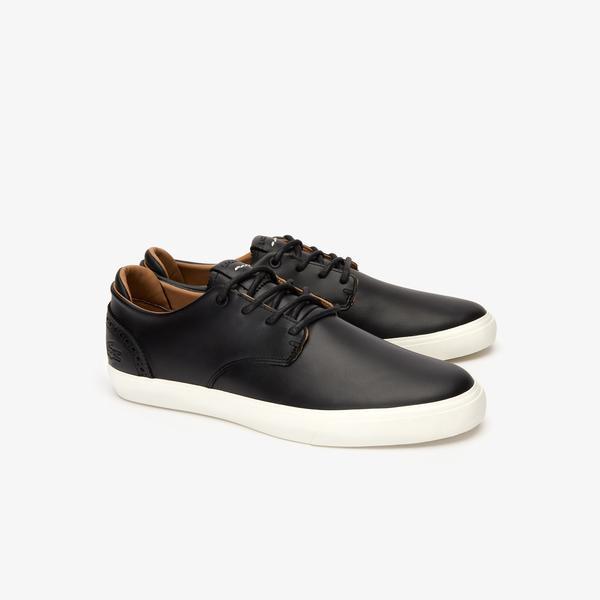 Lacoste Esparre Club 319 2 Cma Erkek Siyah - Bej Casual Ayakkabı